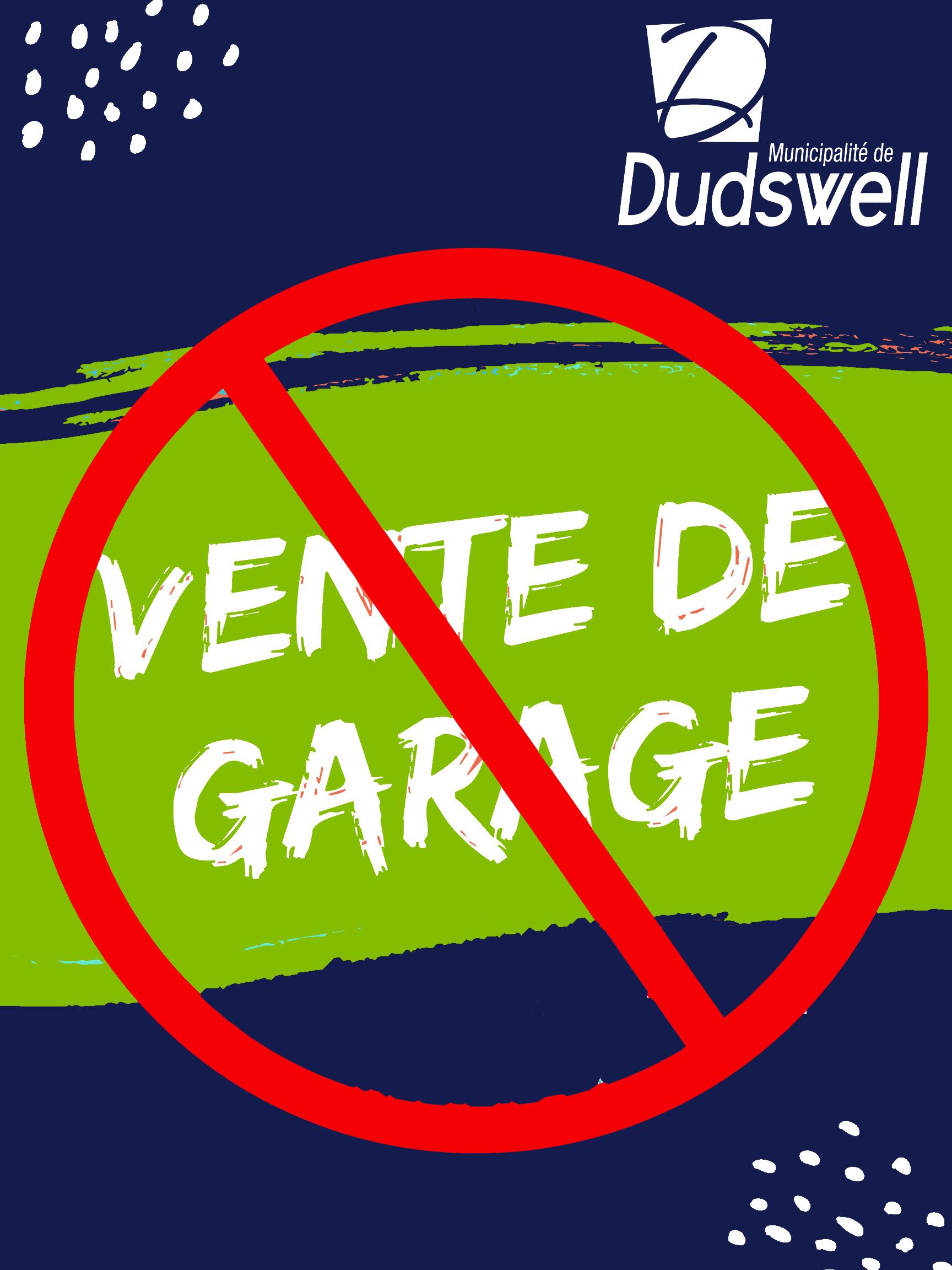 Ventes de garage interdites en zone orange